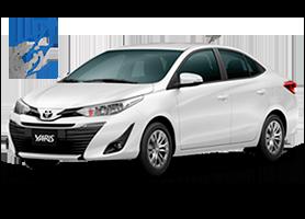 Toyota Yaris Sedan para PCD