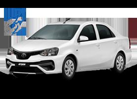 Toyota Etios Sedan para PCD