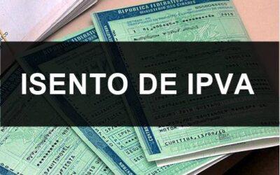Isenção do IPVA