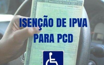 Isenção fiscal para PCD na compra de veículo 0km