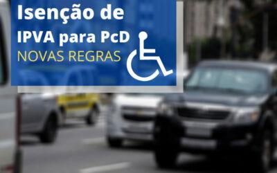 Isenção IPVA 2021 PCD