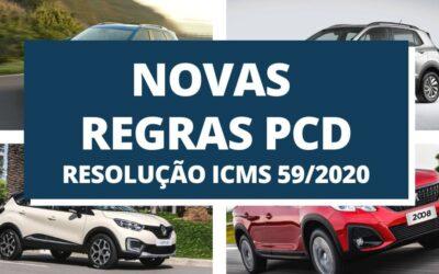 NOVAS REGRAS DE ISENÇÃO PARA IPVA E ICMS CARROS PCD