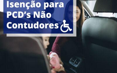 Como conseguir isenção PCD para não condutor